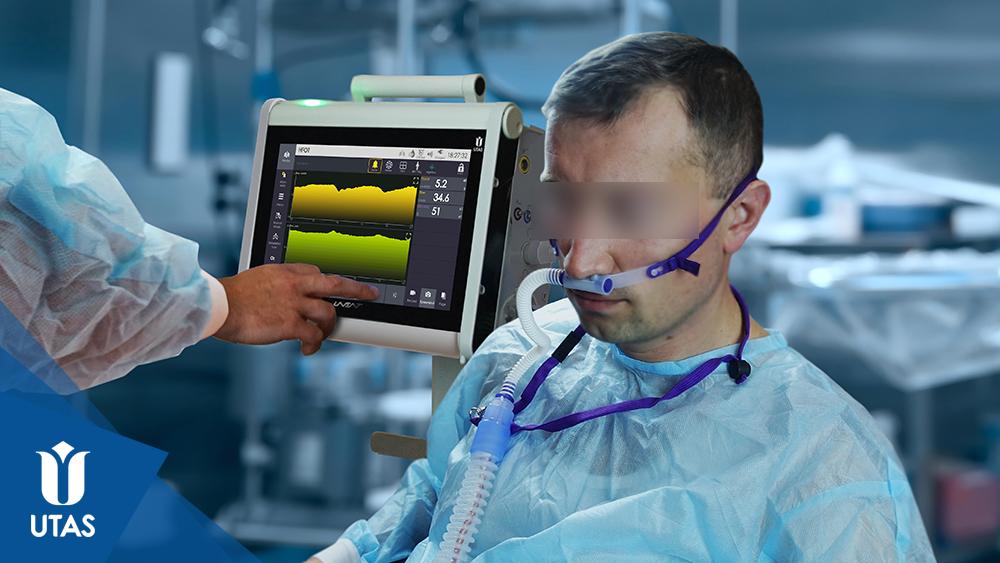 Апарати ШВЛ ЮВЕНТ, високопотокова киснева терапія (HFOT) із використанням назальної канюлі