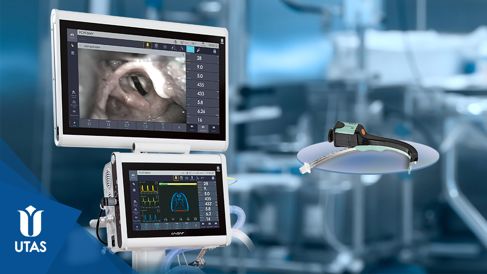 Візуалізація роботи інтегрованого відеоларингоскопу на додатковому HD-дисплеї за технологією UniScreen